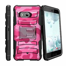 For HTC U11 | HTC Ocean (2017) Case Holster Clip Kickstand Cover Camos