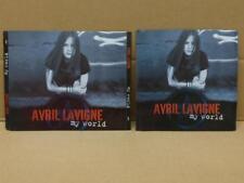 Mega Rare Avril Lavigne My World 2003 Singapore CD + 2x VCD Video CD  FCS8922