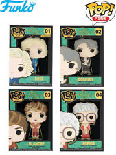 Funko POP Pins The Golden Girls Set of 4 Large Enamel Pins Brand New In Stock