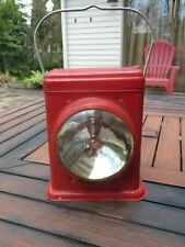 Vintage Delta Red Bird Electric Lantern Dry Cell