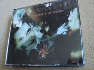 3CD THE CURE –  Disintegration (1989) - Deluxe Edition