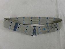 #28 Original US Army WW2 Koppel pistol belt m1936 Lochkoppel Nasco 1942