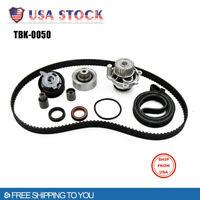 Timing Belt Kit Water Pump for 99-03 V W Golf Jetta Beetle TDI 1.9L ALH (9pcs)