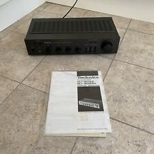 technics su-8022k Stereo Intergrated Amplifier With Manual