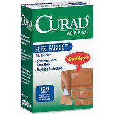 Medline Bandages Flex Fabric 100/Bx Assorted Cur0700Rb