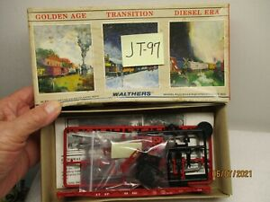 JT-97 Walthers Kit 932-3754 kit 54' Tank GSC Flat Car AT&SF 93521