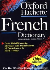 Oxford-Hachette French Dictionary: With FREE SpeakFrench pronunciation CD-ROM ,