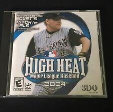 High Heat Major League Baseball 2004 3DO PC CD-ROM Used In MINT CONDITION !