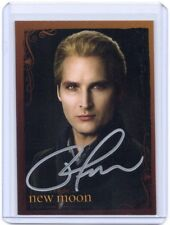 NECA Twilight New Moon Peter Facinelli Carlisle Cullen autograph auto card #3
