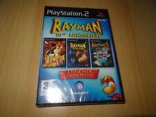 RAYMAN 10 Aniversario Colección - PAL Reino Unido PLAYSTATION 2 PS2 -