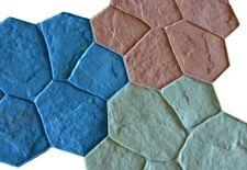 BC Random Stone - 8 Piece Concrete Stamp Set