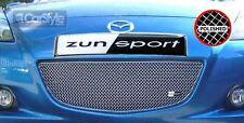 ZunSport Mazda RX8 2004-2006 Polished Steel Mesh Front Grille