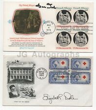 Bob Dole & Elizabeth Dole - Set of Signed First Day Covers