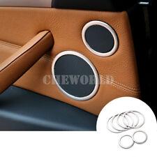 6X Innen Tür Audio Lautsprecher Rahmen Zierleisten Für BMW X5 E70 2008-2013