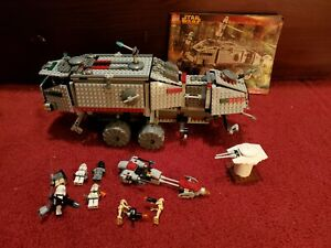 CLONE TURBO TANK Lego Star Wars #7261- read details for subs & omissions