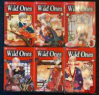 Wild Ones 1, 2, 3, 4, 5, 6 Manga English Viz Romance