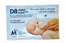 Salviette dentali monouso fisiologica Digital Brush Baby