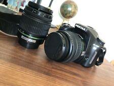 Pentax K100D fotocamera reflex digitale con borsa da trasporto e lenti aggiuntive 50-200