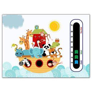 Baby Safe Ideas Animal Ark Nursery Room Thermometer - Easy Read