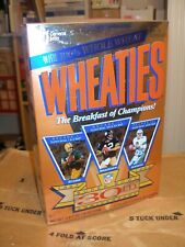 Full Sealed Unopened Wheaties Super Bowl 30th Anniversary Collectors Edition Box