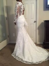 trumpet mermaid wedding dress court train jewel lace tulle with beading lace