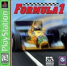 New listing Formula 1 (Sony PlayStation 1, 1996)