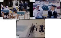 1950s Vintage Original 16mm HOME MOVIES SHIPS FRANCE EUROPE  Film Travel
