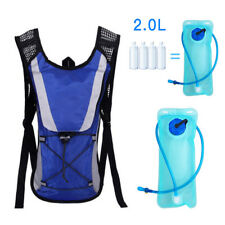 2L Water Bladder Backpack Bag Hydration System Camelback Pack Hiking Camping RM6