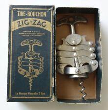ZIG ZAG - TIRE BOUCHON - VINTAGE FRENCH CORKSCREW - 1958