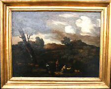 GASPARD DUGHET c1670 ART FRENCH OLD MASTER ITALIAN LANDSCAPE OIL PAINTING ROSA