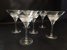 Christofle Facettes Martini Glasses