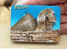 Pyramiden Große Sphinx, Ägypten Reiseandenken Souvenir 3D Kühlschrank Magnet