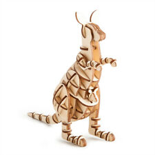 New 3D Plywood Puzzle - Kangaroo Wooden Art Jigsaw