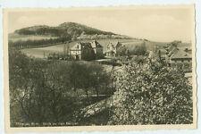 Alte Ansichtskarte Postkarte Striegau Blick zu den Bergen 1932