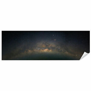 Postereck 2990 Poster Leinwand Panorama, Milchstrasse Galaxie Sterne Himmel