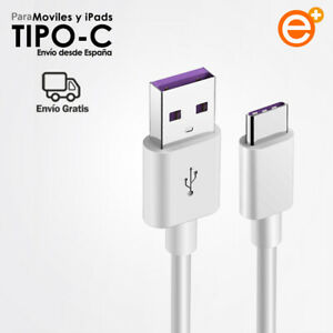 Cable Usb Tipo c Carga Rapida 5A para Movil Tablet Cable USB-C Quick Charger