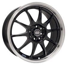 Enkei J10 Wheel Rim 16x7 4X100 & 4x114.3 42mm Black