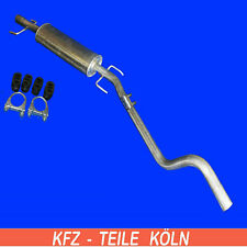 Opel Astra G/H /1.4 - Middle Silencer Exhaust System + Set