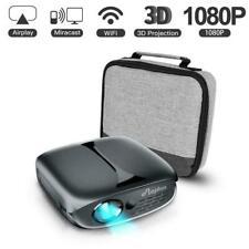 ELEPHAS Mini Portable Projector Wifi DLP 1080p HD Pico 3D Video Pocket Projector