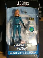 """Marvel Legends INVISIBLE WOMAN 6"""" Fantastic Four Walgreens Exclusive"""