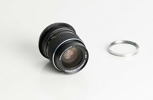 Mamiya Sekor C 55mm f/2.8 F2.8 Lens w/ B+W filter For M 645