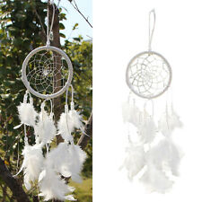Dreamcatcher Circular With Feathers Wall Hanging Craft Wind Chimes