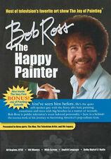"BOB ROSS DOCUMENTARY ""The Happy Painter"" DVD, LIFE & EFFECT ON THE ART WORLD"