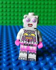 Lego Lady wind up Robot City Lost in Space Minifig Minifigures 71002 Series 11