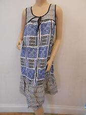 TOPSHOP Ladies Floral Tribal Printed Frill Hem Top Dress Size 10 £38 FREE P&P H3