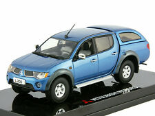 Vitesse Mitsubishi L200 Warrior Crew Pick Up Truck 1/43 Dealer Ed Sun Star Blue