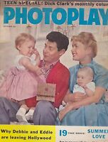 SEPT 1958  PHOTOPLAY vintage movie magazine DEBBIE REYNOLDS