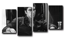 QUADRI MODERNI stampe su tela canvas intelaiati 140x75 4 pezziSCARFACE