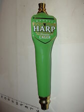 Tap Handle - Harp Premium Irish Lager / Ceramic - Dundalk Brewery / Nice shape
