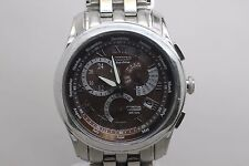 Citizen Eco Drive Gn-4w-s Calibre 8700 Perpetual Calendar Wristwatch Men's Watch